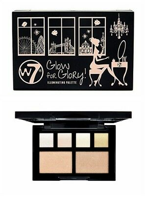 W7 Glow For Glory Highlighter Illuminating Palette