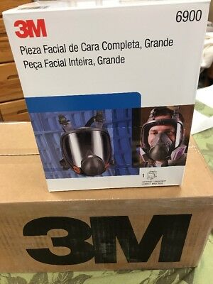 3m 6900 Large Mask Full Face Shield Made And Ship From USA