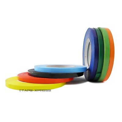Bag Sealing Poly Tape 3/8 inch x 180 yards Several Colors & Pack - Free Shipping