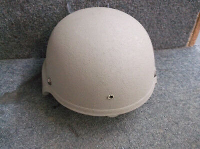 Specialty Defense Systems Large Ach Kevlar Helmet With New Pads.