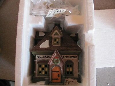Dept 56 Heritage Collection Dickens Village Wm Wheat Cakes & Puddings 5808-4
