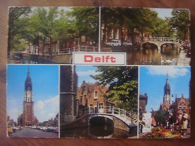 HOLLAND NEDERLAND NETHERLANDS : DELFT - 1978 - Multivues