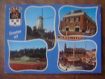 HOLLAND NEDERLAND NETHERLANDS : WILLEMSTAD - Multivues - 1979