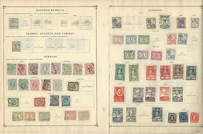 Netherlands Antilles Collection 1873-1959 on 10 Scott International Pages