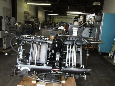 Heidelberg only for die cut Letterpress 13x18 Windmill  CLEAN MACHINE