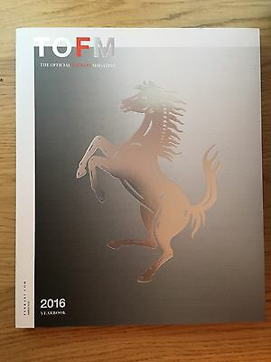 Ferrari Yearbook 2016 The Official Ferrari Magazine Issue 34 -  brand new copy