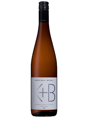Kerrigan + Berry Riesling 2016 case of 6 Dry White Wine 750mL