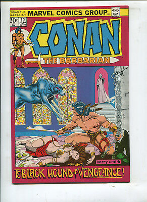 Conan The Barbarian #20 The Black Hound Of Vengeance! (9.0) 1972