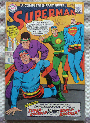 Superman #200, An Early Silver Age Dc Comic, Oct. 1967.