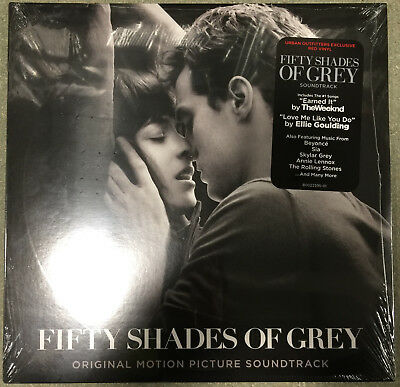 Fifty Shades Of Grey Soundtrack 2LP Set Red Vinyl Weekend Beyonce Sia