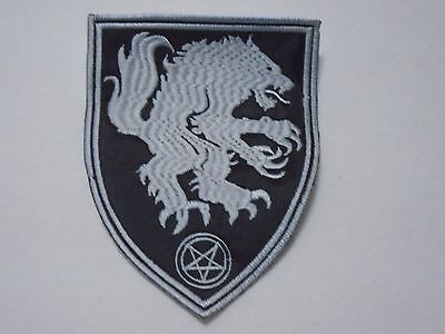 Satanic Warmaster Opferblut Black Metal Embroidered Patch