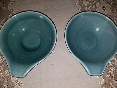 Russel Wright American Modern Steubenville Lot of 2 LUG Fruit/Soup Bowls