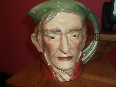 Vintage Large Beswick Ware Toby Character  Jug Scrooge 372