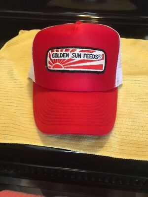 Golden Sun Feeds Hat Cap