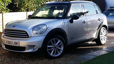 11 Mini Countryman 1.6 Cooper D Diesel Silver D All4 Full Chili Pack -No Reserve