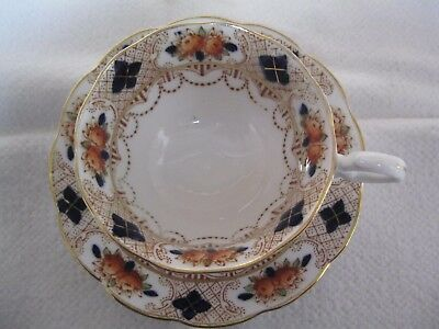 Oxford British Bone China Vintage Cup and Saucer