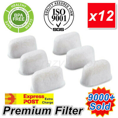 Replacement 12 Water Filters for Breville Barista Express BWF100 BES250 BEC250
