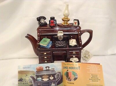Teapottery Swineside Novelty Collectable Teapot 4Th July Desk Great Condtion
