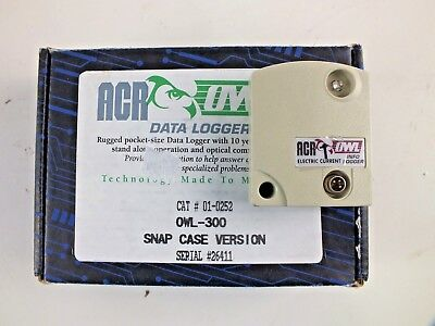 ACR OWL 300 Single-Channel AC Current Data Logger Serial # 26411