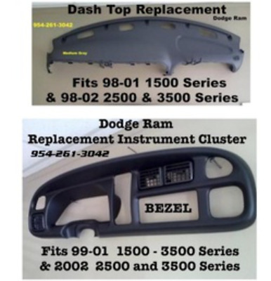 1999 dodge ram 1500 instrument panel replacement