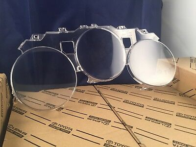 OEM Toyota 93-98 Supra JZA80 Speedometer Clear Lens Cover Discontinued Genuine