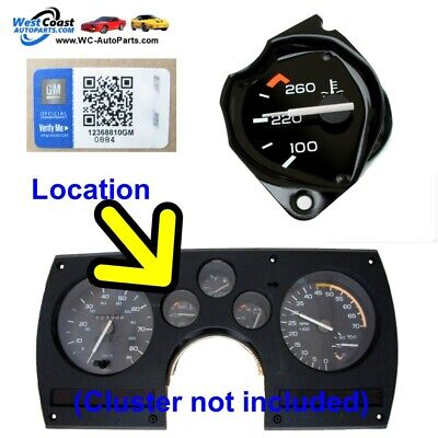 Temperature Gauge for 1982-1989 Chevy Camaro Z28 IROCz