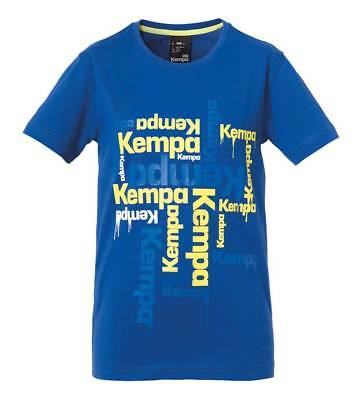 Kempa Paint T-Shirt blau Kinder NEU 82075