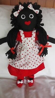 "OOAK Handmade cloth doll ""Ruby"""