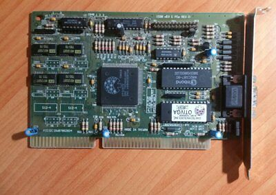 Vintage Oak Technology OTIVGA OTI087X ISA 1MB VGA video card