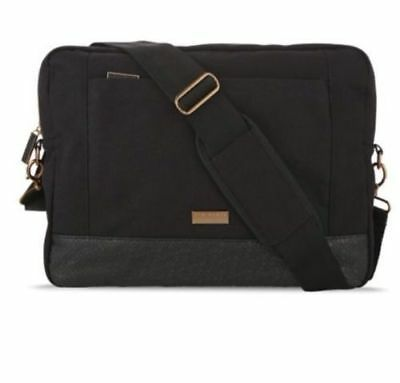 TED BAKER Black Laptop Messenger Bag Men Gift Set Hair Body Wash BRAND NEW