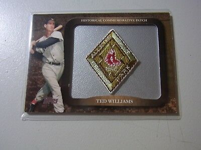 2009 Topps Historical Commemorative Patch 1946 Ted Williams Red Sox #LPR-7
