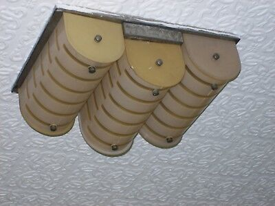 Art Deco ceiling mounted central light