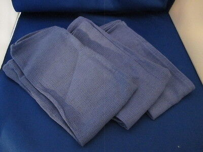 Surgery Blue Huck Towels NEW 100% Cotton  Dental Veterinary Set of 35