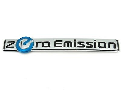Genuine New NISSAN ZERO EMISSION BOOT BADGE Rear Trunk Emblem Leaf 2010+