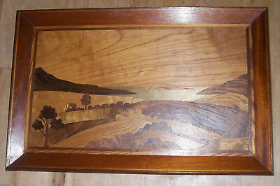 Marquetry Picture Loweswater English Lake District