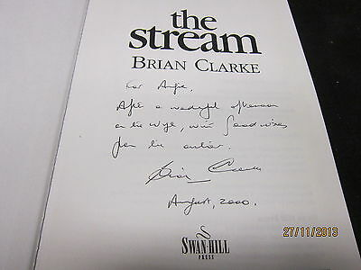The Stream Brian Clarke Signed 2000 Hb With Dj
