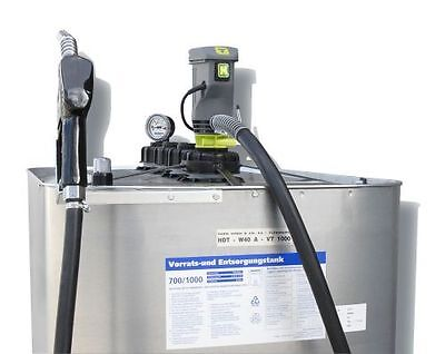 Farm Gas Station - Starter Package - Horn - 1000 Litre - Diesel Tank with Pump