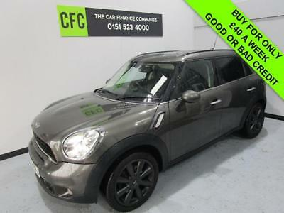 2012 62 Mini Countryman 2.0 Cooper Heated Seats, Diesel Buy For Only £40 A Week