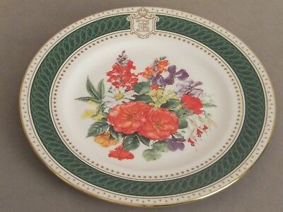 Royal Crown Derby  Queen Mothers birthday plate