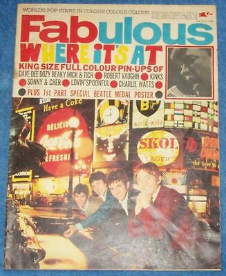 VERY RARE FABULOUS 208 MAGAZINE 1966 read all details please.