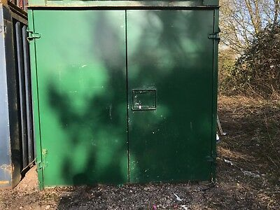 21ft x 8ft Anti vandal Storage Container - Racing Green