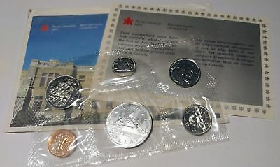 1987 Canada Proof Like Set - Official RCM Issue