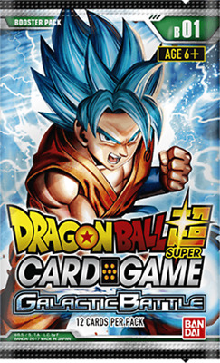 Dragon Ball Super Card Game GALACTIC BATTLE Booster Pack- NEW - AUS Stock