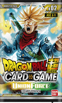 Dragon Ball Super Card Game UNION FORCE Booster Pack- NEW - AUS Stock