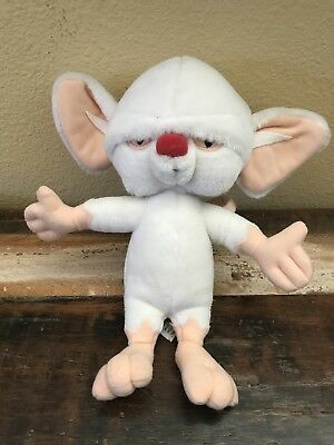 1997 PINKY And THE BRAIN Plush