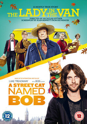 The Lady in the Van/A Street Cat Named Bob DVD (2018) Maggie Smith ***NEW***