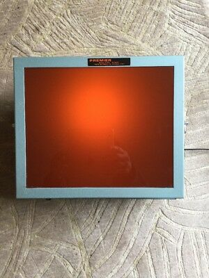 Premier Safelight Metal Original Excellent Condition Darkroom Premier Hanging