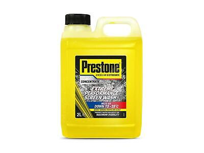 Prestone Screen Wash Concentrate Extreme Performance Windscreen Wash Fluid 2L