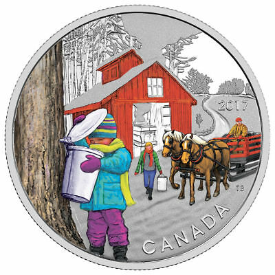 2017 Canada $10 Fine Silver Coin - The Sugar Shack