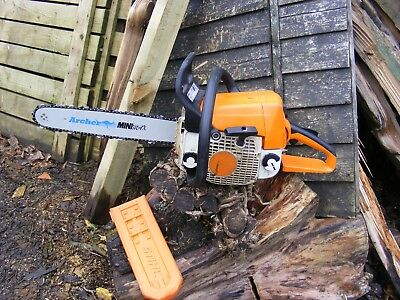 Petrol Chainsaw Stihl Ms 230   Petrol Chain Saw Fitted With New Bar And Chain